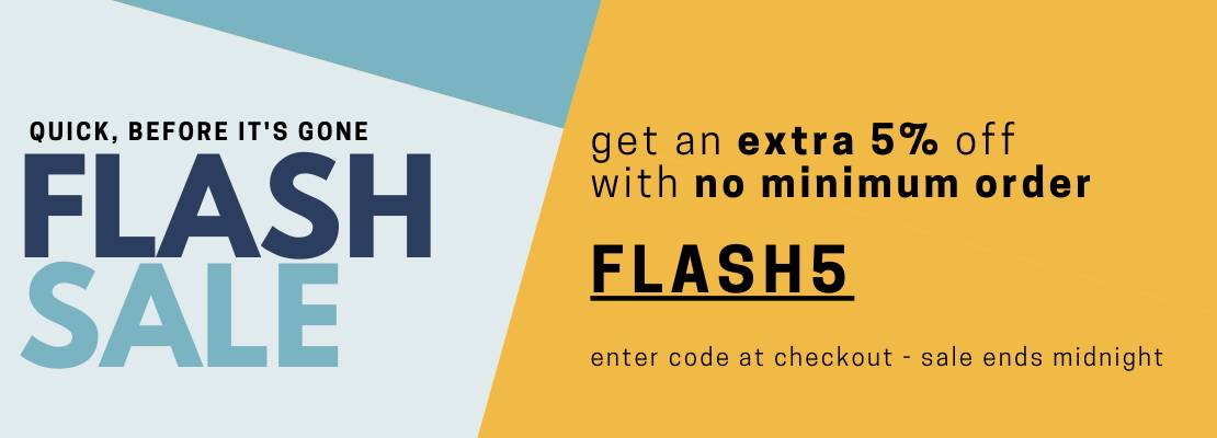 SALE - FLASH SALE 5%