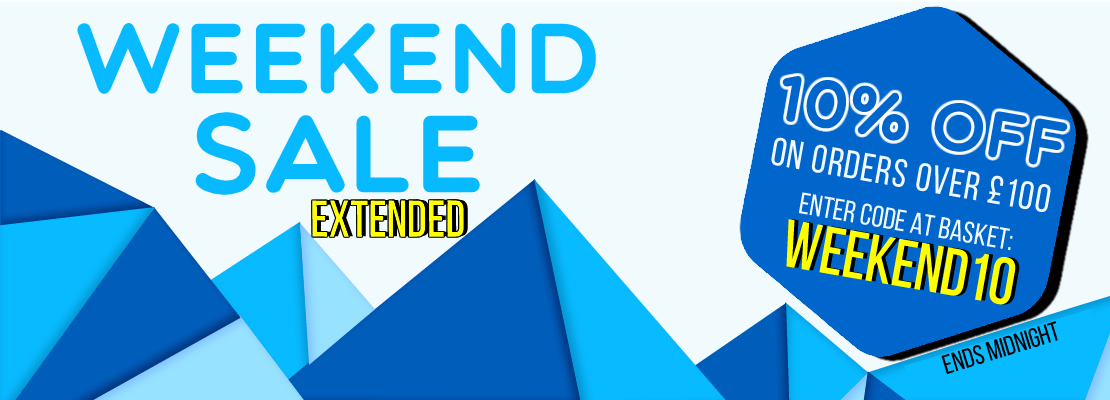Weekend sale 3-5%