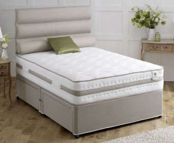 Devine Small Double 4ft 1500 Pocket Spring Memory Fibre Divan Set