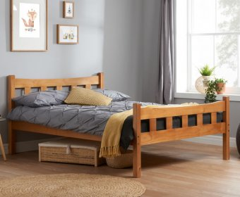 Craven 4ft Pine Wooden Bed