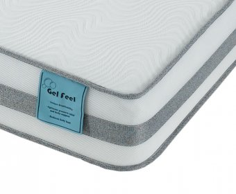 Angelini Small Double 4ft Gel Feel Foam Mattress
