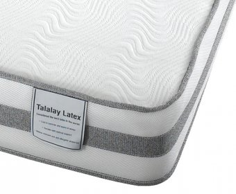 Pryde Small Double 4ft Talalay Latex Foam Mattress