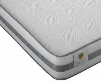 Lancaster Small Double 4ft Blu Cool Memory Foam Mattress