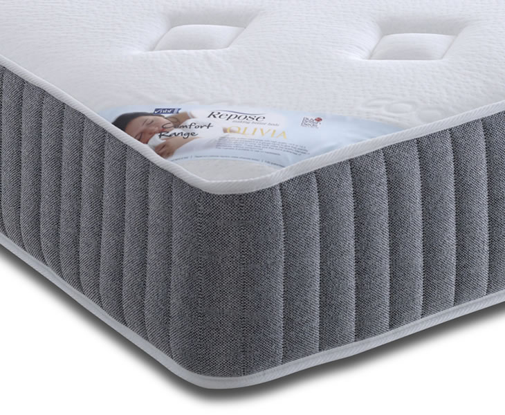 just4ftbeds.co.uk Olivia 4ft Small Double Open Coil Spring Mattress