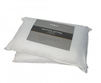 Willow Egyptian Cotton Pillow Pair