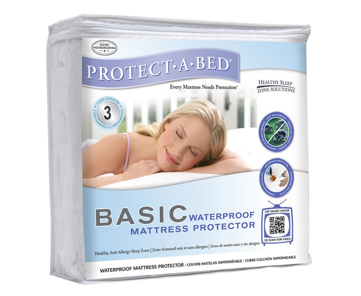 Anti Allergenic Waterproof Small Double 4ft Mattress Protector