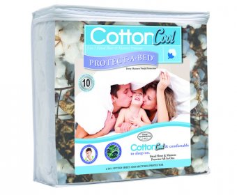 Cotton Cool Waterproof Small Double 4ft Mattress Protector