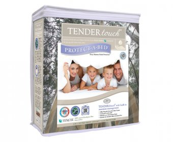Tender Touch Waterproof Natural Small Double 4ft Mattress Protector