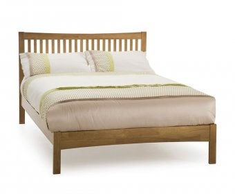 Maya Hevea Honey Oak Small Double 4ft Bed
