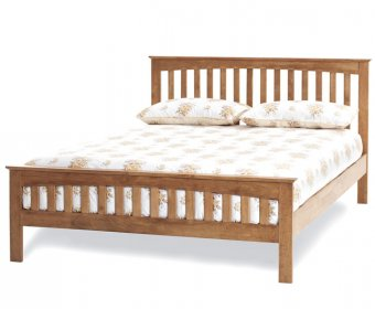 Bonetti Hevea Honey Oak Small Double 4ft Bed