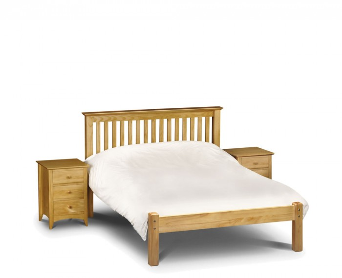 Small Double Frame Barcelona Small Double 4ft Pine Low Footend Bed