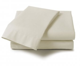 Percale Small Double 4ft Fitted Sheet