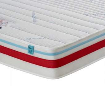 Sports Therapy Small Double 4ft Gel Feel Foam Mattress