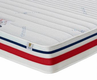 Sports Therapy Small Double 4ft Blu Cool Memory Mattress