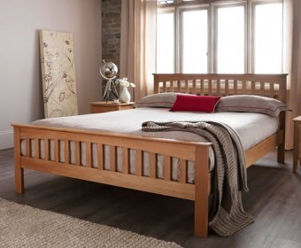 Sandringham Oak 4ft Small Double Bed Frame