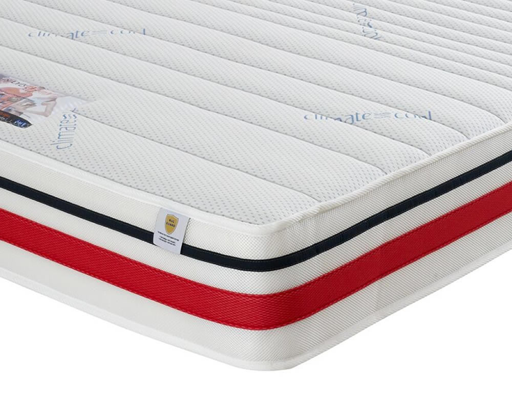 just4ftbeds.co.uk Sports Therapy Small Double 4ft Talalay Latex Mattress
