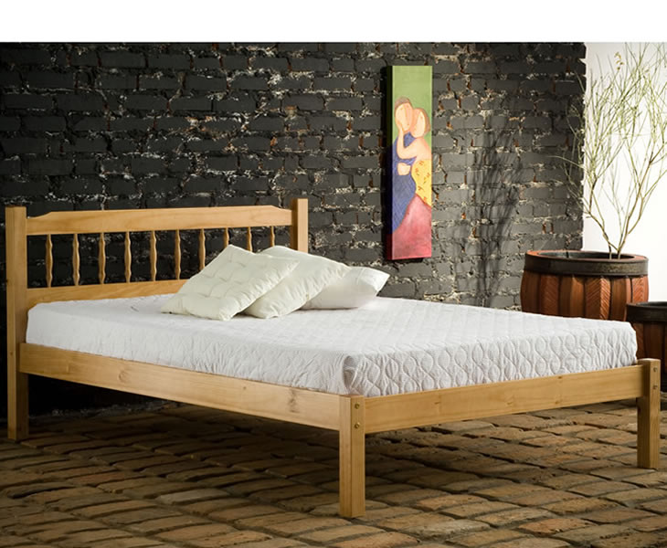 Small Double Frame Santos Small Double 4ft Pine Bed *Special Offer*