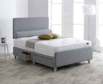 Rosario 4ft Upholstered Bedstead
