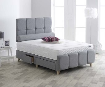 Deku 4ft Upholstered Bedstead