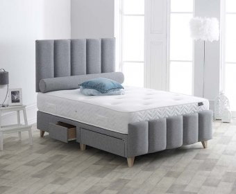 Lima 4ft Upholstered Bedstead