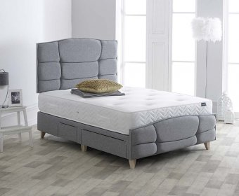 Erie 4ft Upholstered Bedstead