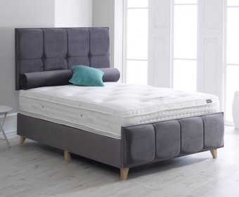 Aydin 4ft Upholstered Bedstead