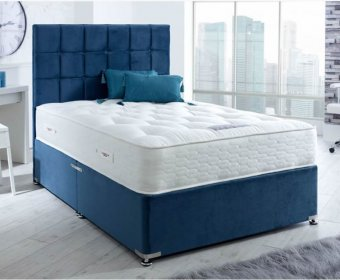 Knightsbridge 4ft Special Size Divan Bed with 6 Length Options