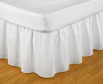 Abanon Easy Fit Frilled Valance Small Double