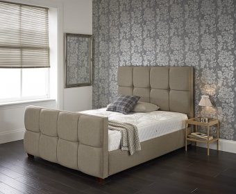 Braque Small Double 4ft Upholstered Bed Frame