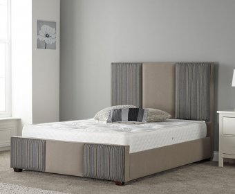 Elston Small Double 4ft Upholstered Bed Frame