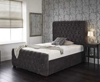 Hanover Small Double 4ft Upholstered Bed Frame