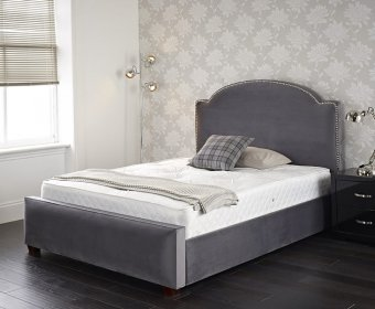 Heath Small Double 4ft Upholstered Bed Frame