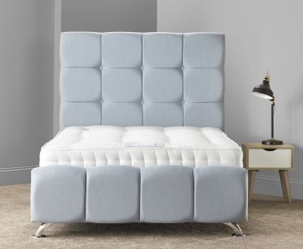 Hudson Small Double 4ft Upholstered Bed Frame
