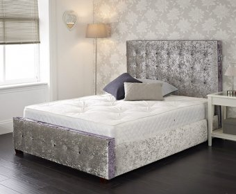 Jessabelle Small Double 4ft Upholstered Bed Frame