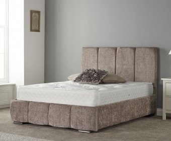 Karlstor Small Double 4ft Upholstered Bed Frame