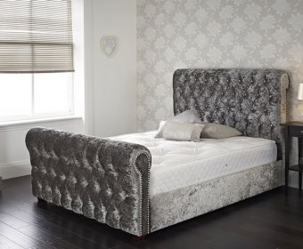 Luise Small Double 4ft Upholstered Bed Frame