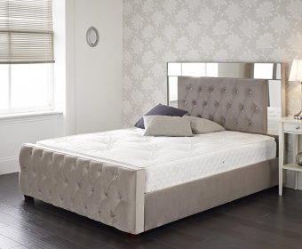 Pandora Small Double 4ft Upholstered Bed Frame