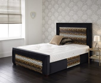 Panther Small Double 4ft Upholstered Bed Frame