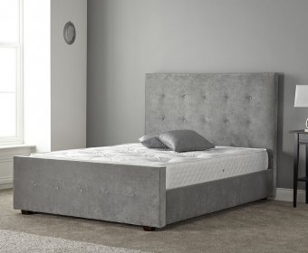 Rainier Small Double 4ft Upholstered Bed Frame