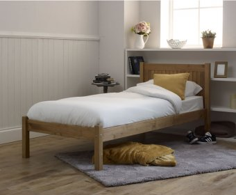 Capricorn 4ft Pine Bed Frame