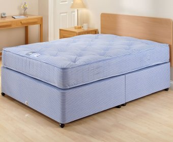 Crown Small Double 4ft Open Coil Divan Set