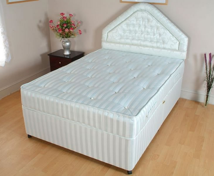 Diplomat small double 4ft divan set for Small double divan set