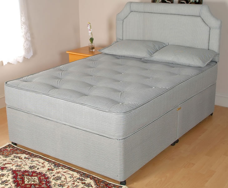 Opal small double 4ft contract divan set for Small double divan set