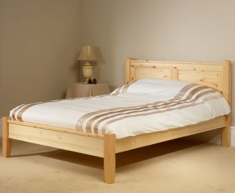 Coniston 4ft Pine Low Footend Bed