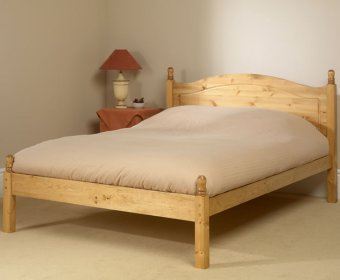 Orlando 4ft Pine Low Footend Bed