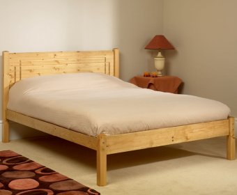 Vegas Small Double 4ft Pine Bed