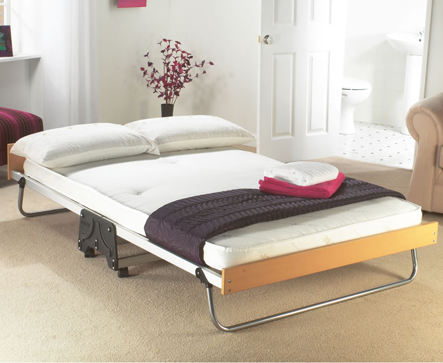 Folding double bed the image kid has it for Compact beds