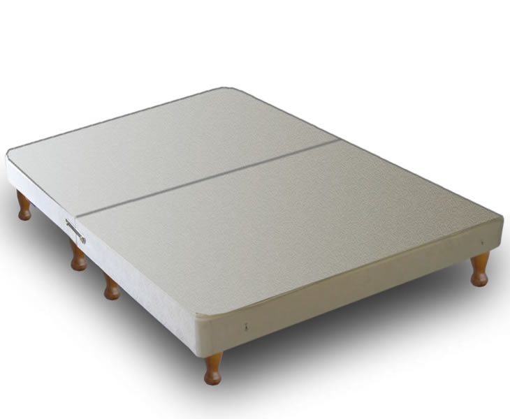 Warwick small double 4ft divan base on legs Divan beds base only