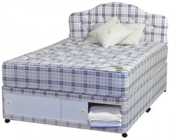 Rome Orthopaedic 4ft Divan Set