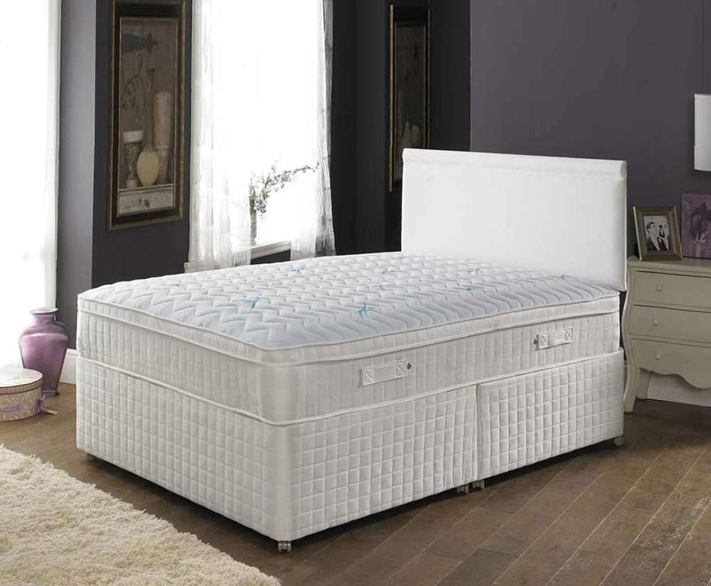 Comfort ultimate small double 4ft divan set uk delivery for Small double divan set